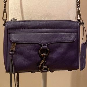 NWT Rebecca Minkoff Mini Mac Crossbody - Eclipse